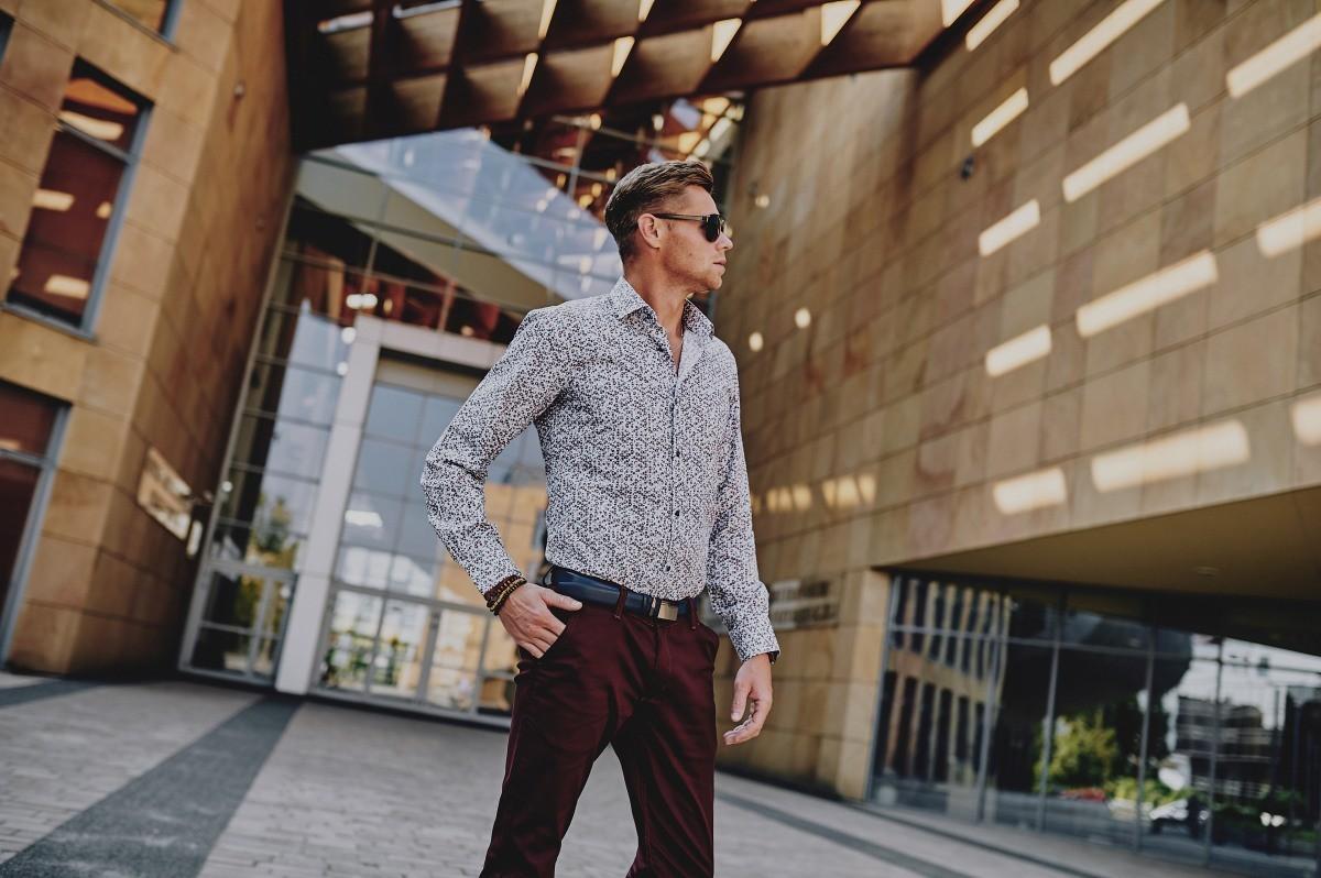 Koszule i spodnie męskie
